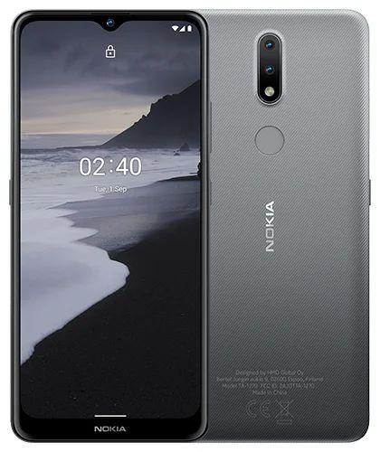 "Смартфон Nokia 2.4 DS 2/32GB 719901126601 grey 6.5"", 512GB flash, 13Mpix+2pix/5Mpix, 2Sim, GSM/WCDMA/LTE, BT/Wi-Fi, GPS/AGPS+GLONASS+Beidou, Micro-USB смартфон nokia 2 4 ds ta 1270 серый 6 5 32 гб wi fi bluetooth 3g 4g gps"