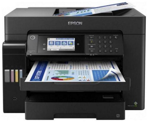 МФУ Epson L15160 C11CH71404 A3 Duplex USB RJ-45 черный