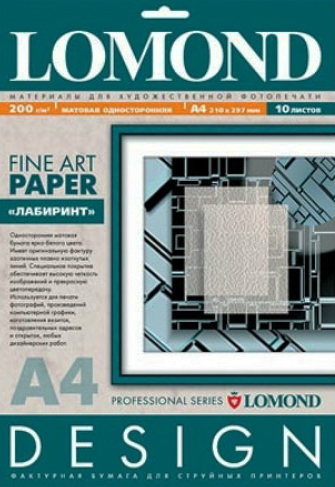 Бумага Lomond 0923041 Дизайнерская Матовая