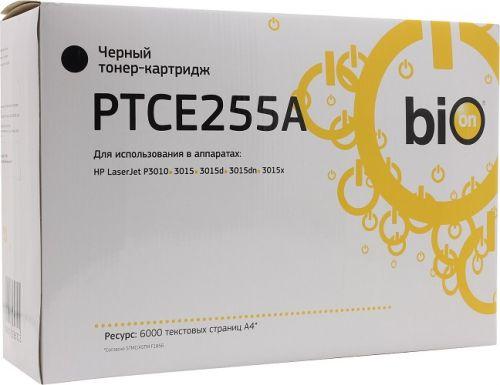 Картридж BION BCR-CE255A черный для Hp LJ Enterprise MFP M525(c/f/dn), P3015(n/d/dn/x), Flow M525c, LaserJet Pro M521 (dn/dw) MFP (6'000 стр.)