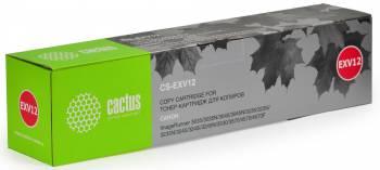 Картридж Cactus CS-EXV12 для МФУ Canon IR3035/3045/3530, черный, 24000 стр. (туба 1060 г.)