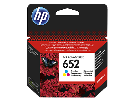 Картридж HP F6V24AE №652 Tri-colour (Цветной) Ink Cartridge