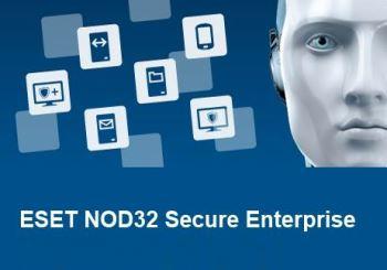 Eset NOD32 Secure Enterprise for 126 users продление 1 год