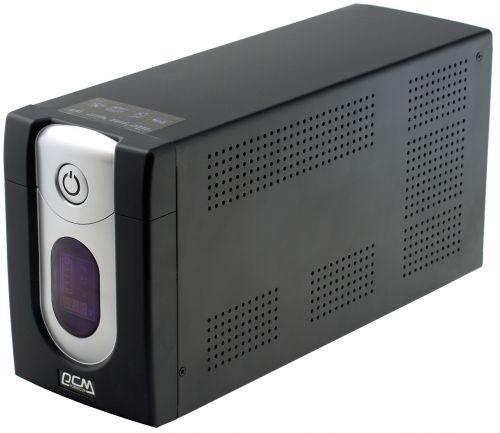 PowerCom Источник бесперебойного питания Powercom IMD-1200AP 507311 Imperial UTP, 1200VA/720W, RJ-45, RJ-11, USB, Hot Swap, LED, 6 х IEC320
