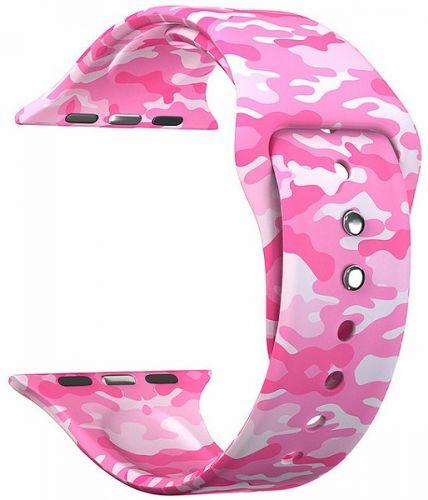 Ремешок на руку Lyambda Urban DSJ-10-109A-40 силиконовый для Apple Watch 38/40 mm military pink ремешок для часов lyambda для apple watch 38 40 mm urban dsj 10 72a 40