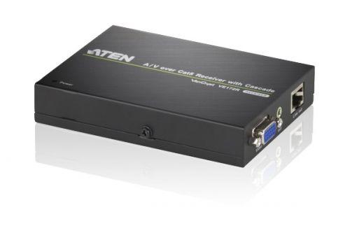 Приемник Aten VE172R-AT-G VGA и Аудио по кабелю Cat 5 с возможностью каскадирования, 1280х1024 150м
