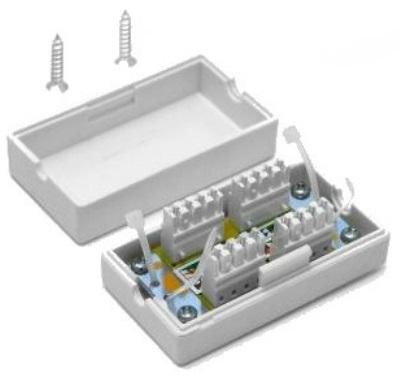 Адаптер проходной TWT TWT-CN110STP6 экранированный, категории 6, TWT