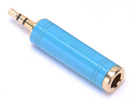 Переходник аудио Vention VAB-S04-L Jack 3.5 mm M/6,5 mm F переходник аудио vention vab s04 l jack 3 5 mm m 6 5 mm f