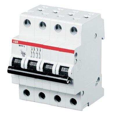 Автоматический выключатель ABB 2CDS254001R0404 S204 4P 40А (С) 6kA