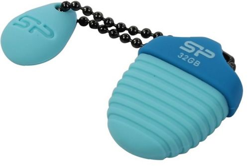 Фото - Накопитель USB 2.0 32GB Silicon Power Touch T30 SP032GBUF2T30V1B голубой накопитель usb 2 0 32gb silicon power touch 810 sp032gbuf2810v1b синий