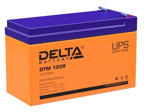 Батарея Delta DTM 1209 12В, 8.5Ач