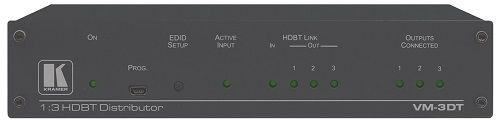 Усилитель-распределитель Kramer VM-3DT 10-804630190 1:3 HDBaseT, поддержка 4К60 4:2:0