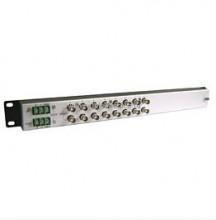 Устройство защиты OSNOVO SP-C8D грозозащиты цепей видео и данных, видео: 8 вх.(BNC-мама), 8 вых.(BNC-мама); данные: 8 вх.(клеммы), 8 вых.(клеммы). Две