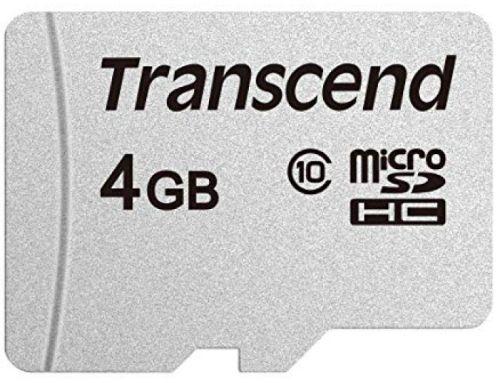 Карта памяти 4GB Transcend TS4GUSD300S microSDHC Class10 w/o adapter