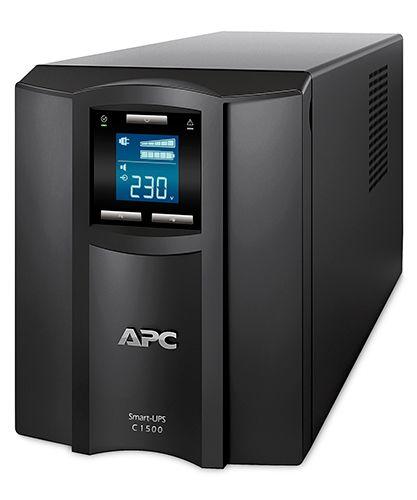 Источник бесперебойного питания APC SMC1000I-RS Smart-UPS C 1000VA/600W, 230V, Line-Interactive, Out: 220-240V 8xC13, LCD, Gray, No CD/cables