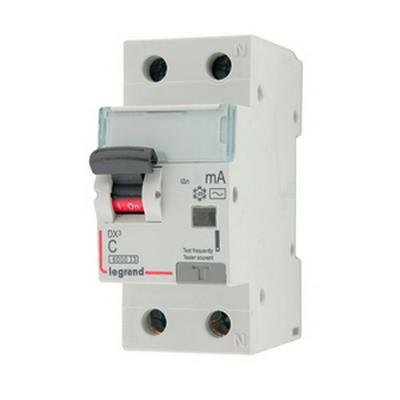 Фото - Автоматический выключатель Legrand 411000 дифференциального тока АВДТ DX3 1п+N 10А 30мА АС автоматический выключатель дифференциального тока tdm electric sq0202 0060 авдт 63м c16 30 ма 4 5 ка