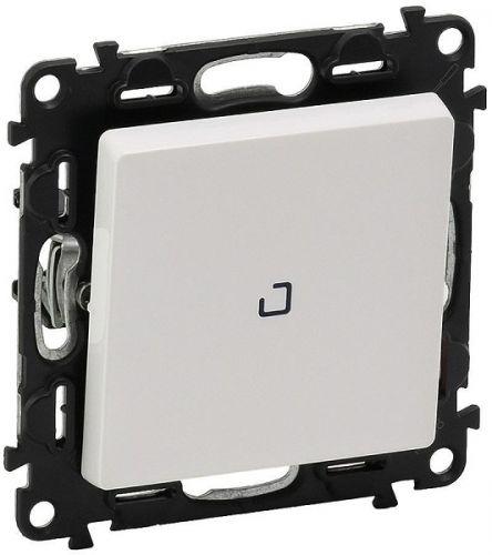 Выключатель Legrand 752104 Valena LIFE DIY, 1-клавишный, 10А, 250В, с индикацией, белый
