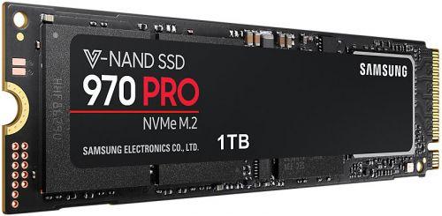 Фото - Накопитель SSD M.2 2280 Samsung MZ-V7P1T0BW 970 PRO 1TB MLC 3D NAND Phoenix PCI-E 3.0 x4 NVMe 3500/2700MB/s IOPS 500K/500K RTL внешний ssd samsung 250gb 980 pro m 2 pcie nvme mlc v nand mz v8p250bw