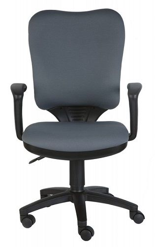 Кресло Бюрократ CH-540AXSN серое кресло woodville kolum серое