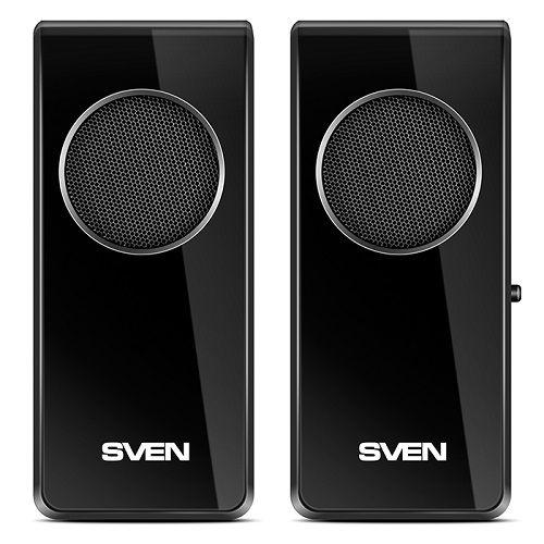 Компьютерная акустика 2.0 Sven 314 4 Вт, 100-20000 Гц, черные