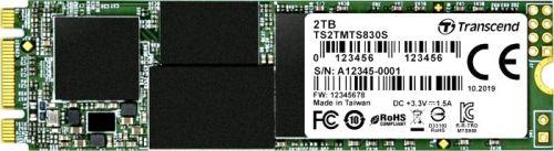 Фото - Накопитель SSD M.2 2280 Transcend TS2TMTS830S MTS830 2TB SATA 6Gb/s 3D TLC 560/520 MB/s IOPS 90K/85K ssd накопитель transcend ts120gmts820s 120gb m 2 2280 sata iii ssd ts120gmts820s