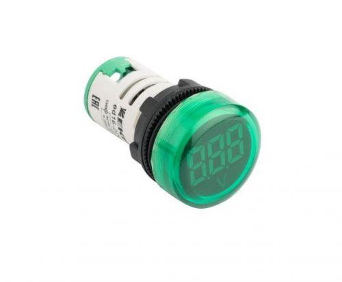 Индикатор EKF ed16-22vd-g значения напряжения ED16-22VD зеленый, PROxima