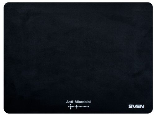 Фото - Коврик для мыши Sven CK SV-009861 черный, 240х190х0,4 мм, 100% полиэстер+полиуретан коврик для мыши sven mp gs1l sv 016951 игровой 450х400х3мм