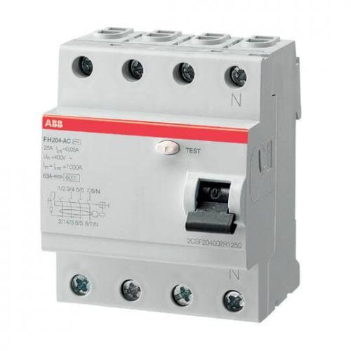Автоматический выключатель ABB 2CSF204006R2400 FH204AC 4Р 40А 100mA (AC)
