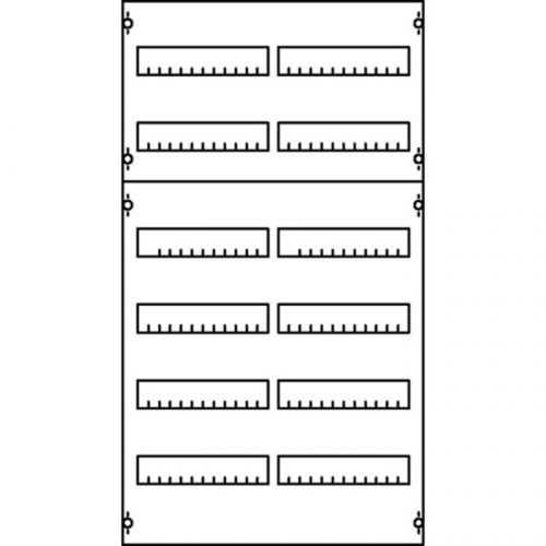 Панель ABB 1V00A под установку мод. устройств 1ряд/3рейки h==450