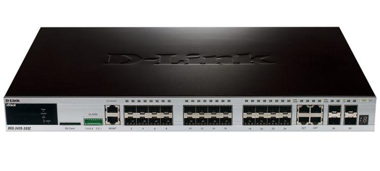 D-link DGS-3420-28SC