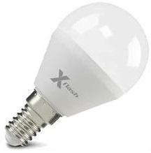 Лампа светодиодная X-flash 47512 XF-E14-P45-6.5W-2700K-230V Е14, 6,5 Вт, 2700 К, 220 В, 470 Лм, матовая колба - шар лампа светодиодная x flash 48014 xf e14 fl p45 4w 4000k 230v е14 4 вт 4000 к 220 в 460 лм матовая колба шар