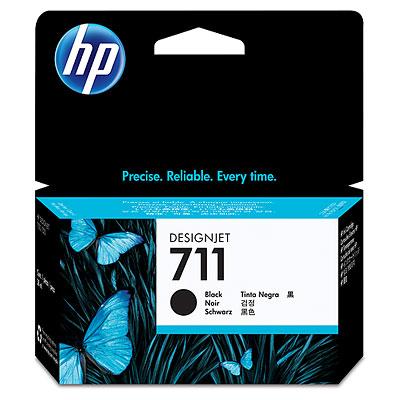 Картридж HP CZ129A №711 для принтеров HP Designjet T120.T520,T525, черный, 38мл