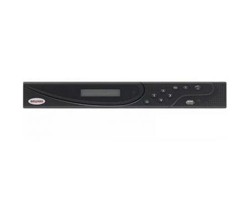 Видеорегистратор Beward BK1232H-P16 до 32 IP-каналов со звуком, 16xPoE, H.265/Н.264, до 192 Мбит/с, 3072x2048 (6 Мп), до 960 к/с, экспорт в AVI, подкл
