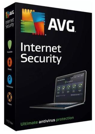 Право на использование (электронный ключ) AVG Internet Security (Multi-Device) 1 year
