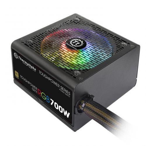 Блок питания ATX Thermaltake Toughpower GX1 RGB 700W PS-TPD-0700NHFAGE-1 700W v.2.4, A.PFS, EPS v2.92, 80 Plus Gold, вентилятор 120мм