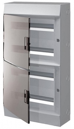 Бокс ABB 1SPE007717F9999 Mistral41 настенный 72М прозрачная дверь (с клемм)