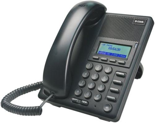 VoIP-телефон D-link DPH-120S/F1B ЖК дисплей, 1xWAN 10/100Base-TX, 1xLAN 10/100Base-TX
