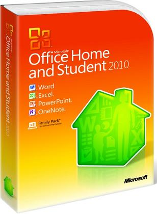Microsoft Office Home and Student 2010 32-bit/x64 Russian DVD Bundle