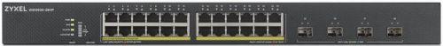 Коммутатор управляемый ZYXEL XGS1930-28HP-EU0101F NebulaFlex, 24xGE PoE+, 4xSFP+, бюджет PoE 375 Вт, автономное/облачное управление
