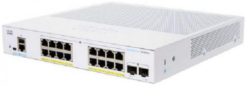 Коммутатор Cisco SB CBS250-16T-2G-EU CBS250 Smart 16-port GE, 2x1G SFP