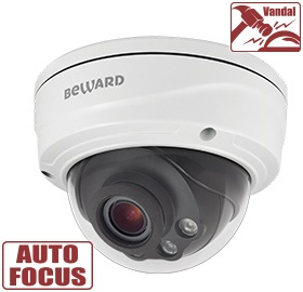 Видеокамера IP Beward SV3215DVZ 5 Мп, 1/2.9'' КМОП Sony Starvis, H.265/Н.264 HP/MP/BP, MJPEG, 30к/с, 2560x1920 видеокамера ip beward sv3210dm 5 мп 1 2 9 кмоп sony starvis h 265 н 264 hp mp bp mjpeg 30к с 2560x1920 объектив 2 8 мм на выбор