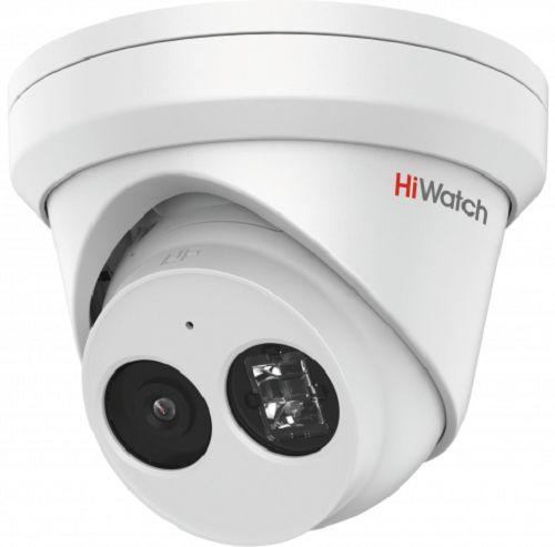 Фото - Видеокамера IP HiWatch IPC-T022-G2/U 2Мп с EXIR-подсветкой до 30м 1/2.8 Progressive Scan CMOS, 2.8мм, 107°, механический ИК-фильтр, 0.005лк F1.6, H.2 видеокамера ip hikvision ds 2cd2023g0 i 6mm 2мп 1 2 8 cmos exir подсветка 30м 6мм 54° механический ик фильтр 0 01лк f1 2 h 265 h 265 h 264