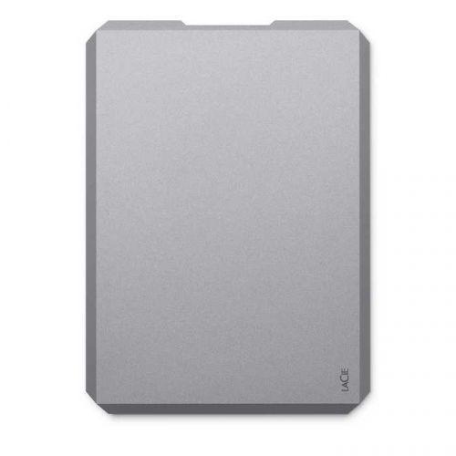 Внешний жесткий диск 2.5 Lacie STHG2000402 2TB, USB 3.1-C, Mobile Drive, серый