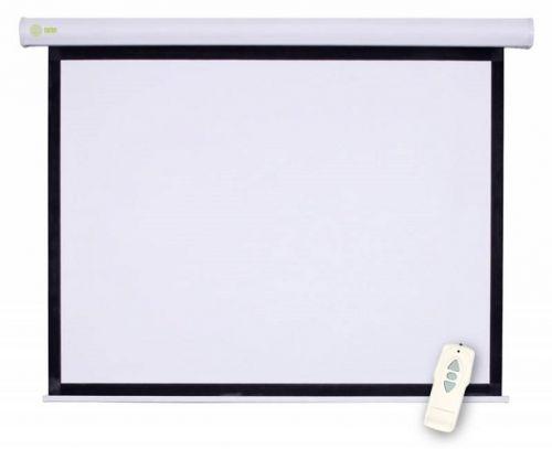 Экран Cactus CS-PSM-150X150 Motoscreen 1:1 настенно-потолочный рулонный моторизованный