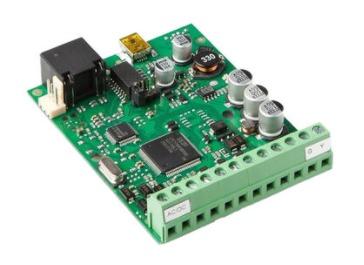 Коммуникатор Eldes ELAN3 – ALARM Ethernet для работы с ESIM364, ESIM384, ET082/ET083, передача данных на станцию мониторинга, U-пит.10...24 В, I-потр.