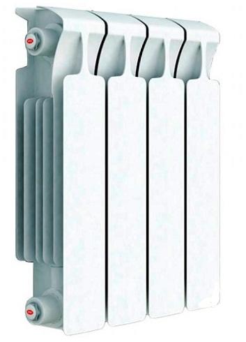 Радиатор отопления биметаллический Rifar Monolit 500 x4 RM50004 биметаллический радиатор rifar rifar monolit 500 12 секц