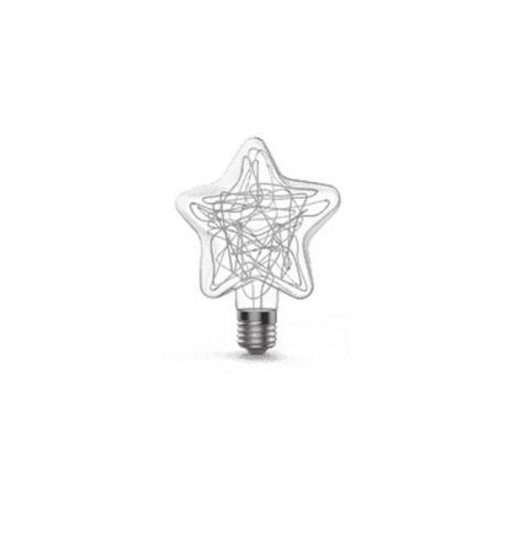 Лампа LED Gauss Vintage Star 160802008 2W E27 115*155mm RGB