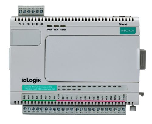 g7sa 3a1b 24vdc safety relays Модуль MOXA ioLogik E2214-T Active Ethernet I/O with 6 digital inputs and 6 relays