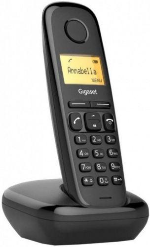 Телефон DECT Gigaset A170 SYS RUS S30852-H2802-S301 черный АОН