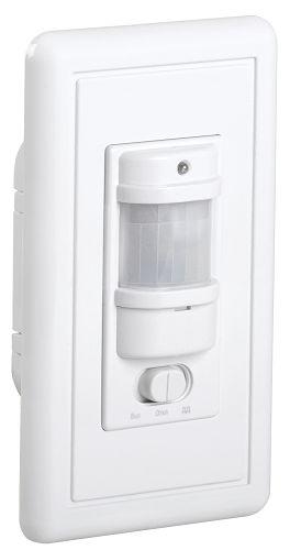 Датчик движения IEK LDD12-028-1200-001 ИК встраиваемый 1200w 9м IP20 белый (ДД 028 бел.)